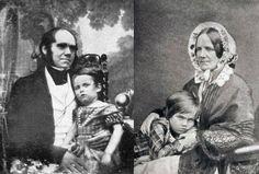 El naturalista siempre temió por la salud de sus hijos, fruto de su enlace con una prima. Su familia sufrió muertes prematuras y falta de fertilidad causadas por la consanguinidad