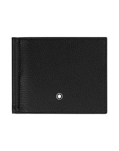Montblanc Meisterstück Soft Grain 4Cc With Money Clip Large Black - Men Small Leather Goods on YOOX. The best online selection of Small Leather Goods Montblanc. YOOX excl...