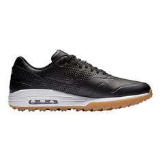 quality design 75217 1302b Nike Golf Men s Air Max 1G Golf Shoes - Black Nike Golf Men, Golf Shoes