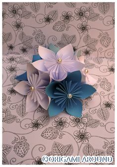 Wedding Decoration Origami Butterfly.