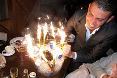 Sparklers light up a night out on the town!  Order bottle #sparklers like these from www.BuySparklers.com! Bottle Sparklers, Small Fountains, Spice Things Up, Night Club, Light Up, Birthday Candles, Champagne, Reception, Party