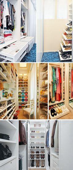 Como planejar um closet ou armário