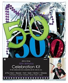 50th Birthday Party Kit -- Click image for more details.