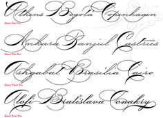 free handwriting fonts handwriting | Using P22's Zaner Pro, anyone can have the penmanship of America's ...
