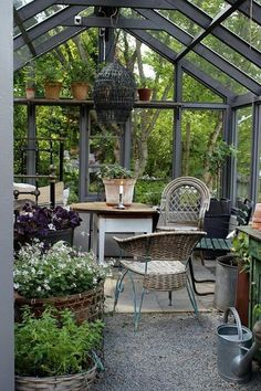 Greenhouse Farming is the process of cultivating crops and vegetable. If you have a greenhouse or are considering setting up one, then we'll share what greenhouse plants grows best inside. Indoor Greenhouse, Backyard Greenhouse, Backyard Landscaping, Greenhouse Ideas, Cheap Greenhouse, Portable Greenhouse, Outdoor Rooms, Outdoor Gardens, Outdoor Living