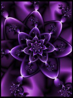 Purple gift by pinkal09, Digital Art / Fractal Art / Raw Fractals
