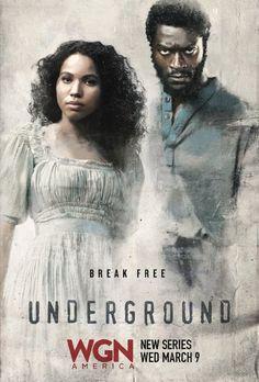Aldis Hodge and Jurnee Smollett-Bell in Underground (2016)