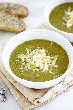 Creamy Broccoli Soup | Girl Versus Dough