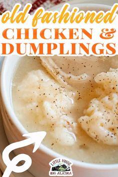 Chicken And Dumplins, Chicken Dumpling Soup, Dumplings For Soup, Dumpling Recipe, Apple Dumplings, Soup Recipes, Chicken Recipes, Dinner Recipes, Cooking Recipes