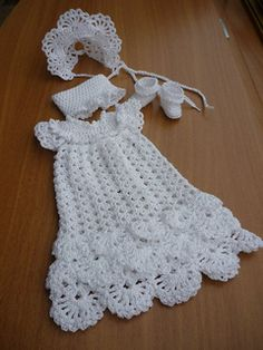 Christening Dress pattern by Annie Potter