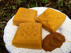 SALE  Goat milk soap with cinnamon essential by creationsbycorina, $3.00