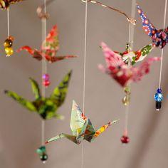 Origami: mobile oiseaux. LOVE IT !