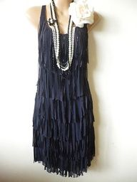 1920's flapper dress... I wouldn't actually wear it but I love it ..... (: