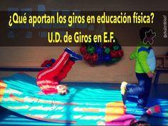 Giros. Unidad didáctica de giros en educación física - YouTube