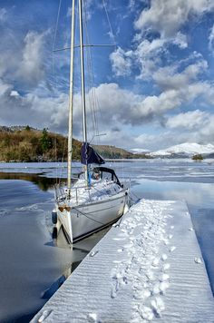 by Rory McDonald - Lake Windermere, The Lake District UK Cumbria, Lake District, England And Scotland, Sail Away, English Countryside, Water Crafts, Places To See, Beautiful Places, National Parks