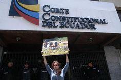 Sus derechos son nuestra responsabilidad. Frente a la Corte Constitucional del Ecuador. #Yasunidos