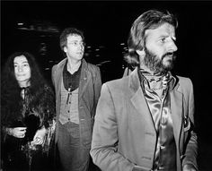 Yoko Ono, John Lennon and Ringo Starr at On The Rox club in Post-breakup photos of members of the Beatles together in the were rare. Photo by Brad Elterman Ringo Starr, Peter Frampton, Nina Hagen, Lita Ford, Matt Dillon, Paul Stanley, John Taylor, Joan Jett, Rod Stewart