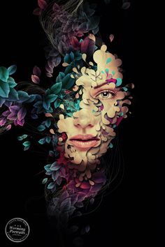 Worming Portraits by Markus Müller, via Behance