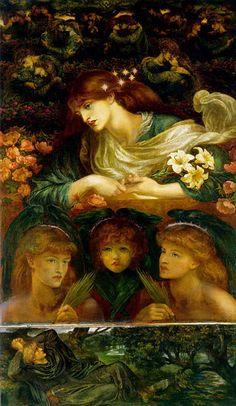 The Blessed Damozel (1870s) D G Rossetti