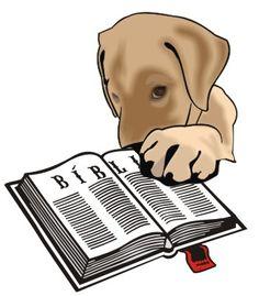 Cuidado com os cães na igreja!