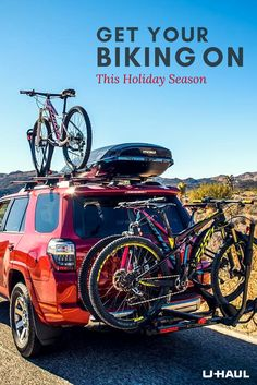 Relatives coming over for Thanksgiving? Get a Yakima 5 Bike Rack, and get them out of the house… to show them around! Click through to start browsing>>