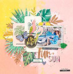 Bea Valint: Fun + Sun | Crate Paper DT