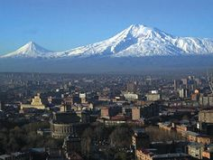 Yerevan, Armenia - I always get goose bumps when I see Ararat. Magnificent Queen....