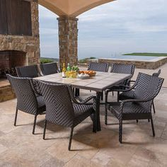 Kaylee 9Piece Dining Set  Dining Room  Pinterest  Dining Room Classy 9 Piece Dining Room 2018