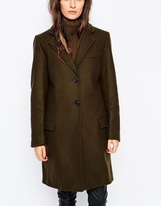 Gloverall | Gloverall Classic Chesterfield Coat at ASOS