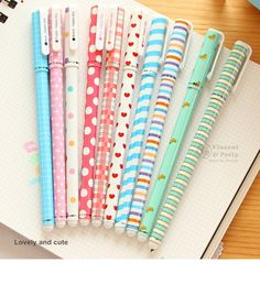 10 pcs/set Color Gel pen Kawaii Stationery korean flower Canetas escolar papelaria zakka Office material school supplies 6230-in Gel Pens from Office & School Supplies on Aliexpress.com | Alibaba Group