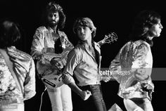 News Photo : The Bee Gees perform in a rare 1979 Los Angeles,...