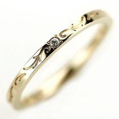 agete(アガット)のagete k10ダイヤリング レディースのアクセサリー(リング(指輪))の商品写真