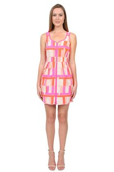 The Conversation Dress in Colorblock by Amanda Uprichard at CoutureCandy.com