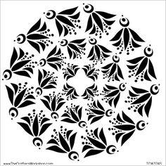 doily stencils - Google Search