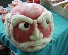 Melon Carving