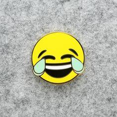 Emoji Enamel Pin Lapel Pin