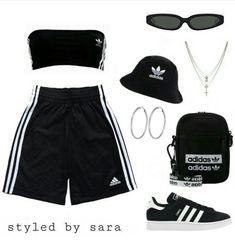federxca The Effective Pictures We Offer You About adidas outfit pants A quality picture can tell yo Swag Outfits For Girls, Cute Swag Outfits, Cute Comfy Outfits, Sporty Outfits, Teenage Outfits, Retro Outfits, Grunge Outfits, Stylish Outfits, Girl Outfits