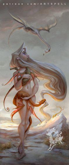 Daenerys by David Adhinarya Lojaya