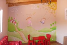 Mural para playroom