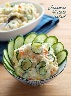 Japanese salad, potato salad, kid, toddler, vegetarian, food for tots