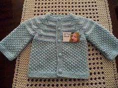 Olá! Mais um casaquinho para bebe feito em trico ... o casaquinho Xodó! Fiz este casaquinho baseado em uma foto que fora postada no fac...