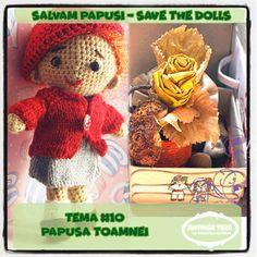 "Provocari Verzi - Metamorfoza unui fluture -: Salvam Papusi // Save the Dolls "" Papusa Toamnei "" Challenges, Teddy Bear, Dolls, Blog, Animals, The Originals, Baby Dolls, Animales, Animaux"