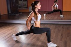 The key to this thinner thighs workout is 5 intense moves that engage your leg muscles and boost your heart rate to burn calories.