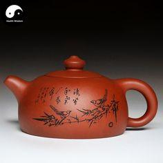 Yixing Zisha Teapot 300ml,Purple Clay