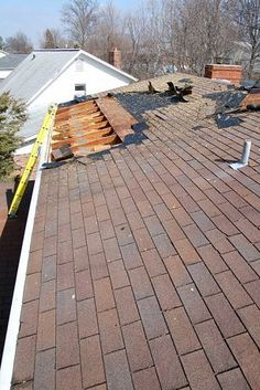 Don't Let This Happen to Your Roof — good roofing tip for homeowners!