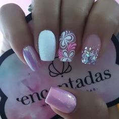 Coffen Nails, Pink Manicure, Pink Nails, Acrylic Nails, Gorgeous Nails, Pretty Nails, Finger, Pretty Girl Rock, Beautiful Nail Designs