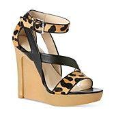 Calvin Klein Women's Shoes, Dani Platform Wedge Sandals