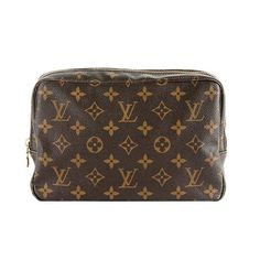 LOUIS VUITTON Monogram Canvas Pouch...would make a great cosmetic bag
