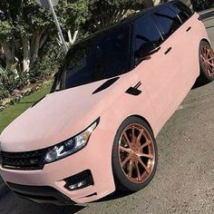 Range Rover Sport, Pink Range Rovers, Ferrari, Bugatti Cars, Pink Lamborghini, Range Rover Interior, Gold Wheels, Mercedes Benz S, Audi