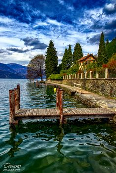 ~~walk by the lake | Orta San Giulio, Piemonte, Italy by Tizi@no56 (painting with light)~~